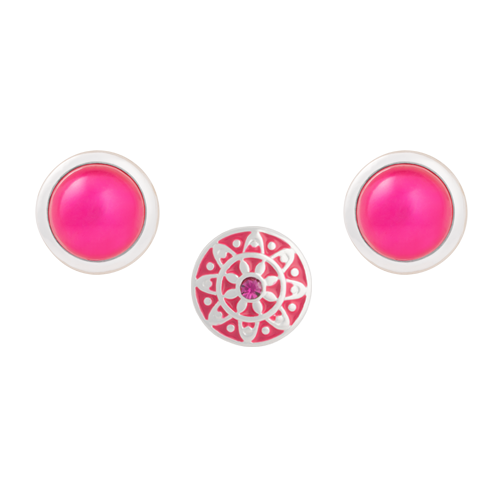 Fuchsia Emblem Dot Set