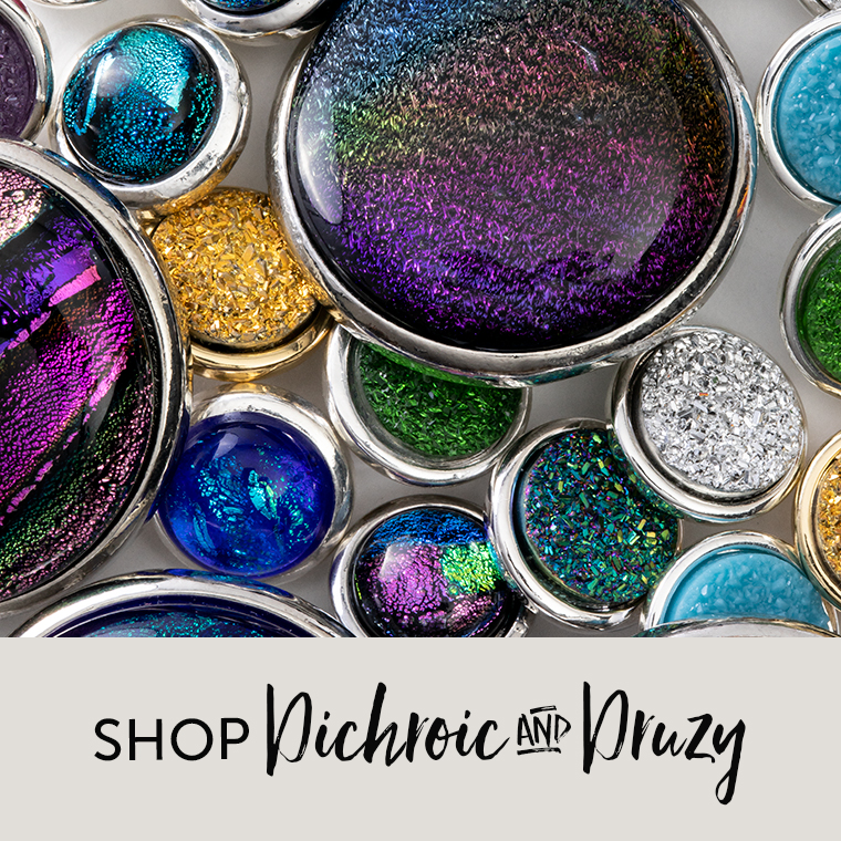 Shop Dichroic and Druzy